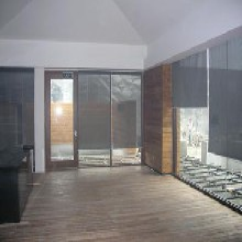 北京遮光窗帘会议室遮光窗帘办公室遮光窗帘防紫外线窗帘定做喷绘卷帘图片