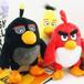 广州填充毛绒玩具公仔可爱卡通愤怒的小鸟公仔活动小礼品来图定制