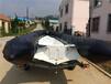 5米黑色玻璃钢钓鱼船