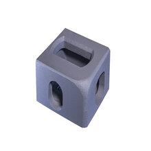 供应集装箱标准铸钢角件一级品集装箱角件