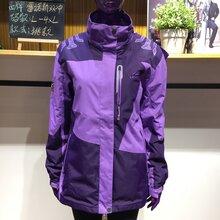 户外女款冲锋衣两件套冬季服装批发基地一手货源