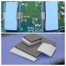 深圳新能源汽车专用导热硅胶耐高温散热硅胶垫片、耐高温绝缘导热硅胶片图片