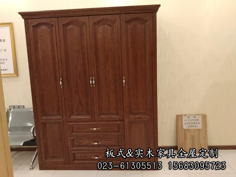 欧式多层板衣柜图片