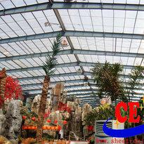 专业设计生产阳光板耐力板采光系统、采光顶棚