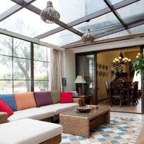 专业设计制作别墅花园阳光房,不锈钢铝合金结构阳光房