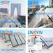 苏州太阳能集中供热酒店,高温平板太阳能热水工程