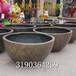 玻璃钢定做花盆半圆形组合花盆制品商场酒店花盆系列可定做