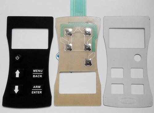 东莞电子组装厂家浅析薄膜按键的典型形式是什么?
