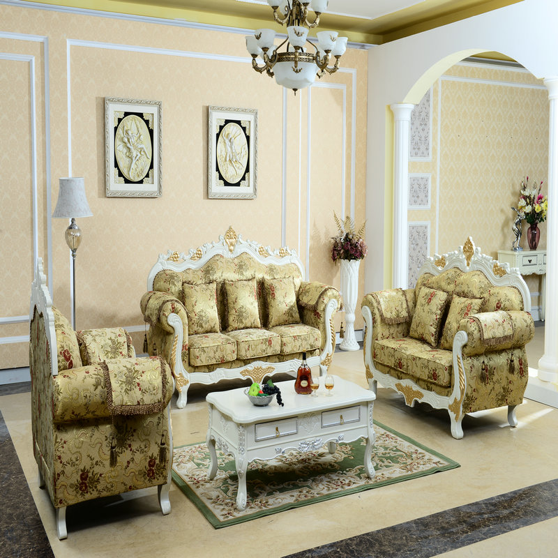 欧式布艺沙发图片