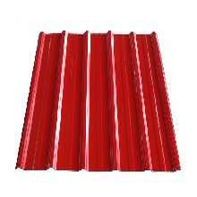 单层彩钢瓦-红色彩钢瓦-色泽鲜艳-彩钢瓦质量最好、北京房山彩钢