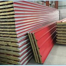 房山彩钢房维修、彩钢屋顶板、彩钢岩棉防火板安装图片