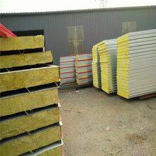 北京生产彩钢岩棉板的彩钢公司-北京京东万顺彩钢钢结构厂家