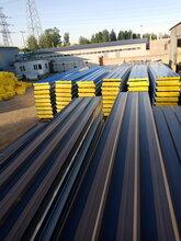 10公分彩钢岩棉板、5公分防火彩钢板-北京京东万顺彩钢钢结构图片