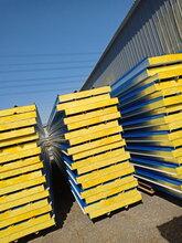 北京彩钢板厂家直销彩钢夹芯板、批发彩钢岩棉板-型号齐全、支持定做图片