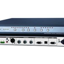 济南快捷会议系统CR-DIG5201-A会议系统控制主机带防啸叫抑制功能