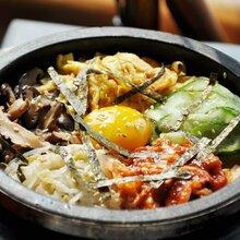 石锅营养拌出来,韩国石锅拌饭培训图片