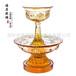 宗教用品琉璃八吉祥護法杯法會用具藏教用品琉璃廠家定制