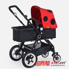 米莱奇童车的婴儿手推车,给宝宝无限的爱!