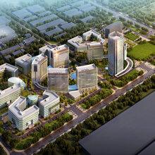百万平米恢宏建筑群多元的链式产业聚集地图片