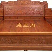 品牌红木红木家具/东阳红木家具/厂家直销百子大床图片
