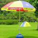 昆明广告伞材质哪家好晋宁县广告伞定做价格云南圆形大伞厂家