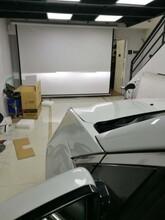 重庆首台凯迪拉克LED双光透镜改装重庆海海车灯图片