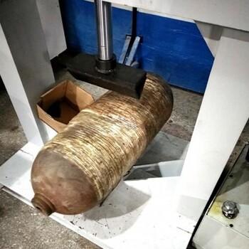 怀化高频率气瓶压扁机质量可靠,气瓶报废设备