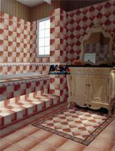 怀旧配套客厅瓷砖300X300卫生间背景墙砖地砖阳台防滑防污仿古砖图片