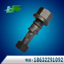 厂家直销磷化轮胎螺栓153前轮后轮螺栓五金紧固件重汽配件图片