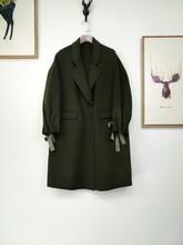 高端新款羊绒双面呢欧美日韩女装折扣尾货女装走份批发品牌尾货女装