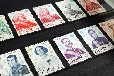 重庆长寿长辈送的外国邮票在哪里鉴定交易有价值吗