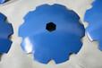 大量供应:六方孔耙片犁片犁刀农机配件