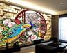 能个性化装修3d影视背景墙的彩印机精工喷头2512uv平板打印机