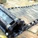 贵州铜仁定制的矿产工地用的重型链板输送线