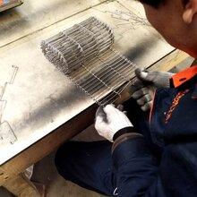 乙字网带是哪种的宁津乙字网带厂家介绍304食品机械输送乙型网带连接方法图片