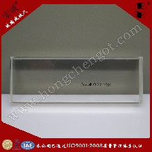 宏诚(厂家供应)100mm玻璃线纹尺国家级别线纹尺石英尺图片