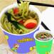 面食加盟十大品牌双响QQ杯面特色小吃加盟赚钱操作简单