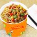 小吃培训双响QQ杯面特色美食小吃加盟