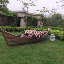 装饰木船/可供装修装饰等高档木船/欧式船/善同提供制作
