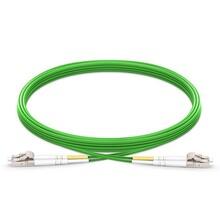 LC/UPC-LC/UPC双工多模OM5带宽光纤跳线