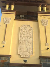 东莞砂岩花盆厂,景观花盆报价,浮雕花钵花钵雕刻石材花钵