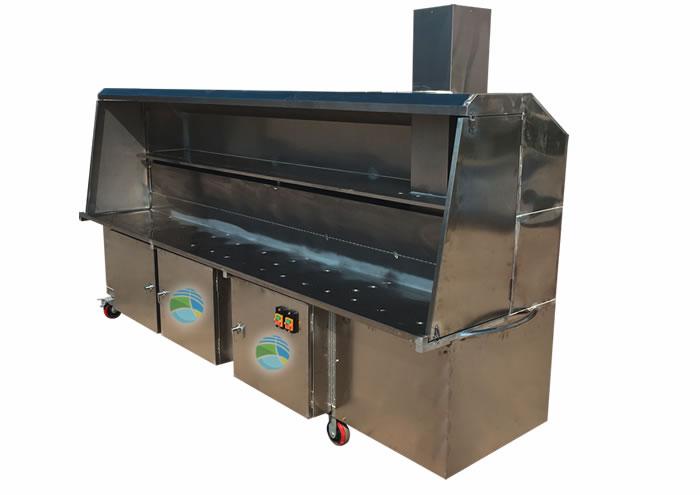 木炭无烟烧烤设备-无烟烤肉机/无烟烧烤餐桌/烧烤炉子图片大全 ...