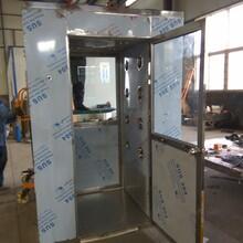 食品车间用风淋室设备出口食品厂净化不锈钢风淋室风淋室厂家图片