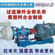 FSB型氟塑料合金离心泵耐腐蚀离心泵防爆泵