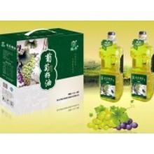 鲲华葡萄籽油1800ml3瓶礼盒装图片