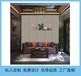 定做硬包刺绣背景墙卧室沙发床头刺绣软包海绵皮革杭州生产厂家