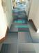 青岛工程地毯、青岛写字楼地毯、青岛商务方块地毯、方块地毯价格