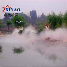 广州冷雾造景设备景区冷雾设备假山冷雾造景系统庭院冷雾造景设备图片