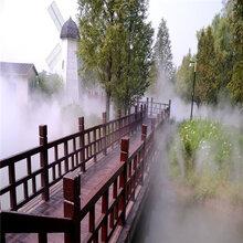 售楼部全自动人造雾设备庭院水景人造雾造景设备图片