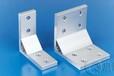 铝型材加工加强直角支架挤压铝合金角件工业铝材配件连接件定做